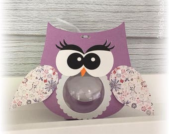 OWL OWL ball 5cm for sweets + wing collar