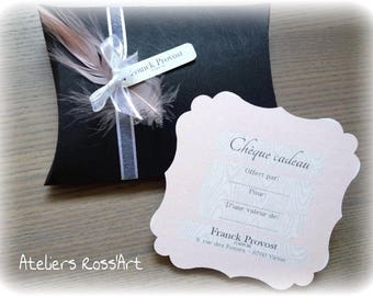 box black gift pouch and gift