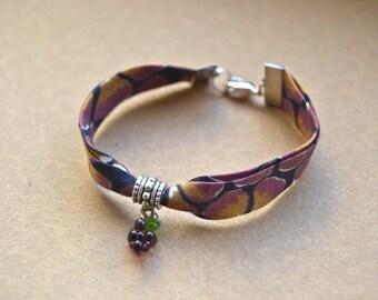 Bracelet LIBERTY purple and grape