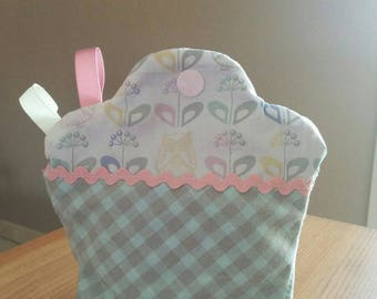 Cupcake for sewing accessories pouch
