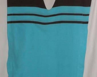 Sarong lightweight cotton Beach caftan tunic dress handmade
