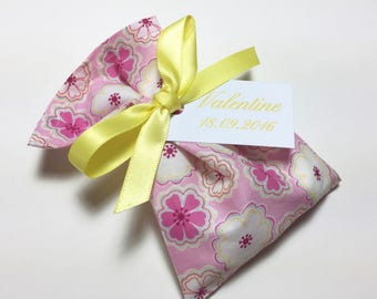 10 sachets favors personalized Liberty Toria