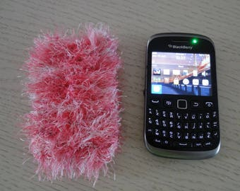 CELL PHONE CASE MADE KNIT WITH WOOL - NEW