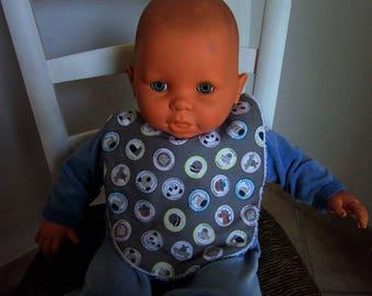 Baby - anti bavouille BIB 1 age - newborn to 3 months - baby food.