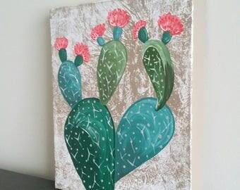 Etta Pricklypear - Original Artwork - Acrylic on Stretched Canvas