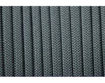 Paracord 550 type III grey 1 m length