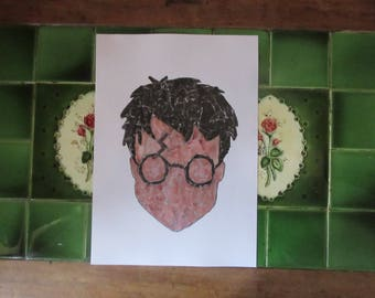 Collage Print- Harry Potter
