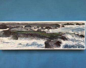 Beautiful island in the sea: Navy Board