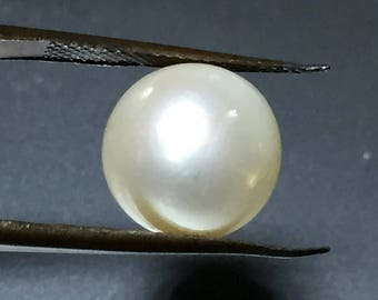 Natural Certified South Sea Pearl 9.45 ct [Australian Cultured]