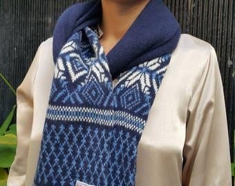 Inverallan Vintage Handmade scarf Scottish Lambswool