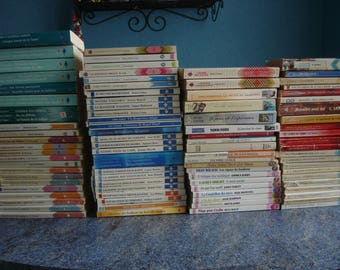 Set of 89 books romance DUO, we two Harlequin