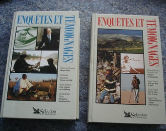 Set of two and testimonies Excellent condition