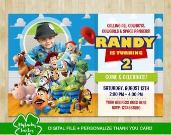 Toy Story Invitation, Toy Story Birthday Invitation, Toy Story Party, Toy Story Birthday, Toy Story