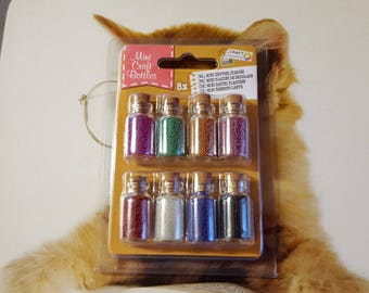 Mimi craft bottles, micro beads