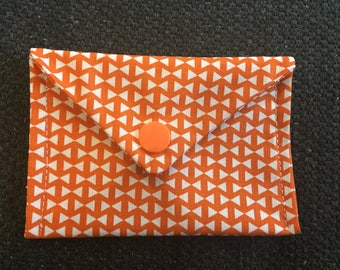 Fabric snap pouch