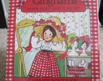 The Gingham's Paperdoll & Play Set
