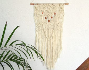 Hanging macrame wall - wall hanging - boho decor