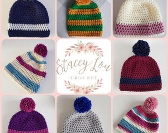 Made to order Children's Bobble Beanie Hat