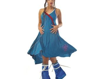 "Dress ""Ethnic"" lagoon"