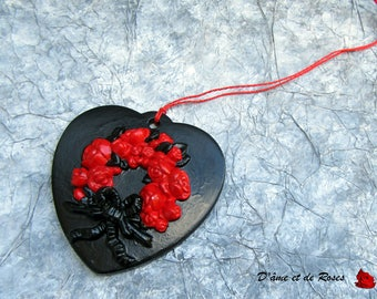 heart Christmas tree decoration or door and windows