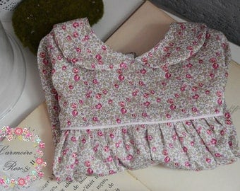 Blouse in Liberty eloise pink
