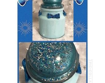 Blue Velvet Jar