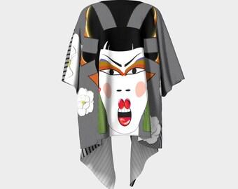 "Draped Kimono, ""Original Empress, Made to order"""