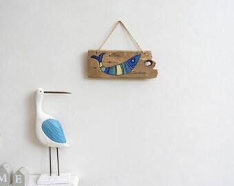 Decorative wall miss sardine Driftwood