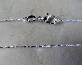 925 sterling silver chain length: 45 cm width: 1 mm + 1 certificate of authenticity
