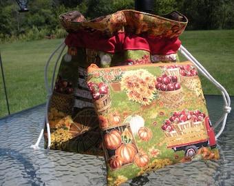 Autumn Time Project Bag