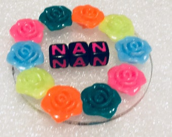 Mother's Day gift, fridge magnet, gift for Nan, flower fridge magnet