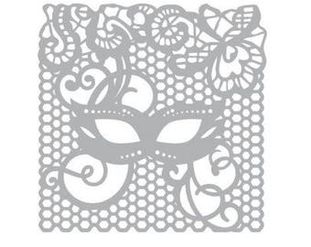 Stencil Art Stencil 15 cm new Carnival mask Mask