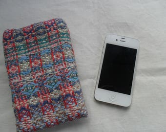 pouch has hand made iphone