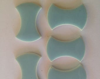 Vintage Mosaic Ceramic Tiles From the 60's
