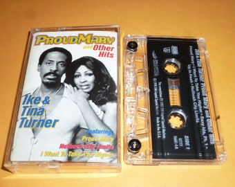 Ike And Tina Turner PROUD MARY Cassette Tape R&B