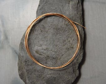 3 m of copper wire 0.5 mm easy to work