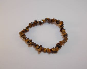 genuine about 90 beads chips semi precious Tiger eye