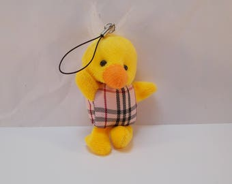 Yellow chick for cell phone pendant