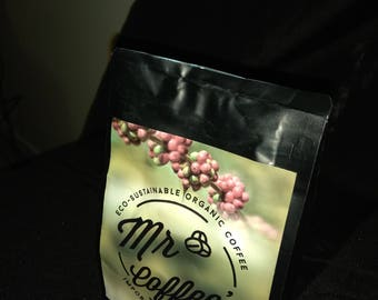 Eco-sustainable organic coffee