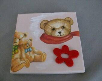 """Canvas """"Baby bear"""""""