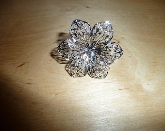 filigree ring with adjustable ring
