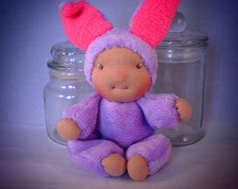 Mini Bunny 15 CM waldorf doll