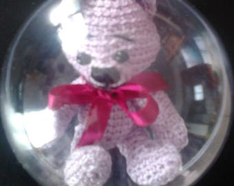 Christmas sold amigurumi bear