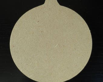 10 cm wooden MDF - Gomille Christmas ornament