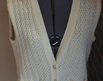 Vintage vest - 1970s vest - knit vest - women's vest - vintage women's vest - vintage waistcoat