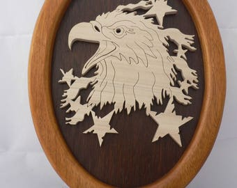 Frame Eagle American cut (fretwork)