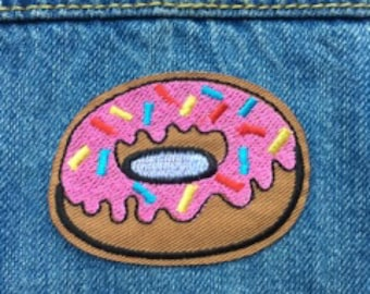 Donut with Sprinkles Patch//FREE US SHIPPING