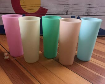 Tupperware Plastic Cups