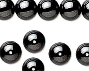 Wholesale lot of 90 6mm non magnetic hematite beads