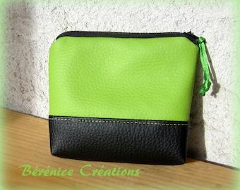 """Wallet """"joyful color"""" Green Apple"""